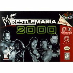 WWF-WRESTLEMANIA-2000-RARE-NINTENDO-64-GAME-NEW-AUS-EXPRESS