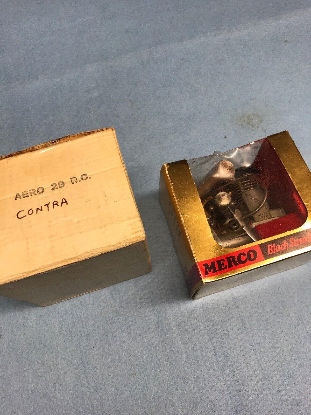 MERCO 29 Contra Nitro Glow RC Aeroplane Engine Used No.140