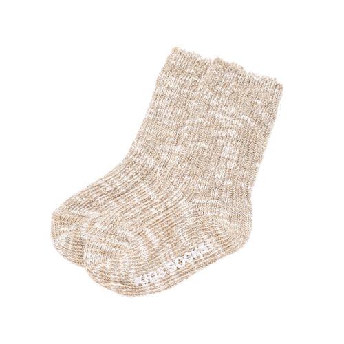 2 year Baby Slub Yarn Socks Ankle High Cotton Blend Anti Non Slip Newborn