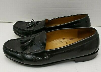 Cole Haan Mens Pinch Tassel Penny Loafer Shoes Black ...