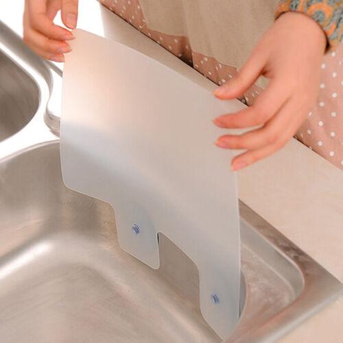 1*Kitchen Wash Sink Washing Baffle Prevent Water Splash Guard Board UK  #HA2