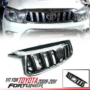 Front Chrome Grille Grill Prado Style For Toyota Fortuner Kun Suv