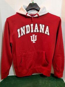 Campus Heritage Indiana IU Mens Med Pull Over Hoodie Jacket Long Sleeve
