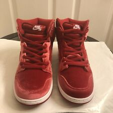 buy online f85a5 f7225 item 2 NEW NIKE DUNK HIGH PREMIUM SB 313171-661 RED VELVET Men Size Us 12  -NEW NIKE DUNK HIGH PREMIUM SB 313171-661 RED VELVET Men Size Us 12