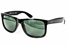 Ray Ban Sonnenbrille / Sunglasses JUSTIN RB4165 601/71 54[]16 3N