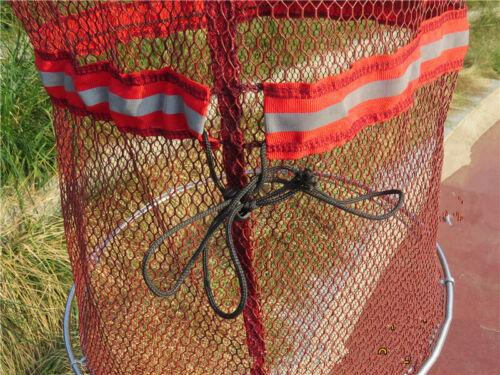 1PC 40*2m Foldable Crab Fish Crawdad Minnow Fish Bait Trap Cast Dip Net Cage New