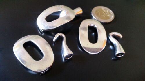pulseras abalorios CG-15 3 Cierres Zamak A.10,5 x 2,7mm ¡¡¡OFERTA 2x1!!