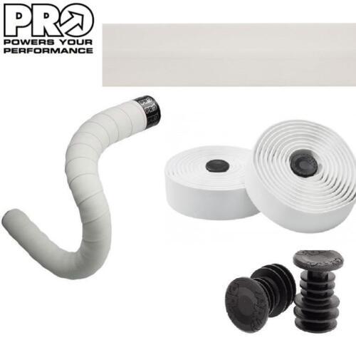 PRO Sport Comfort Road Bike Handlebar Tape 3.5mm Thick Bar Wrap WHITE PRTA0041