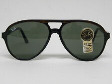 New Vintage B&L Ray Ban Traditionals Style A Black Tortoise L1668 Aviator NOS