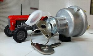 128sa 35670 Tractor diesel Interruptor de ignición & Llaves MF 30 35 MF250 MF265