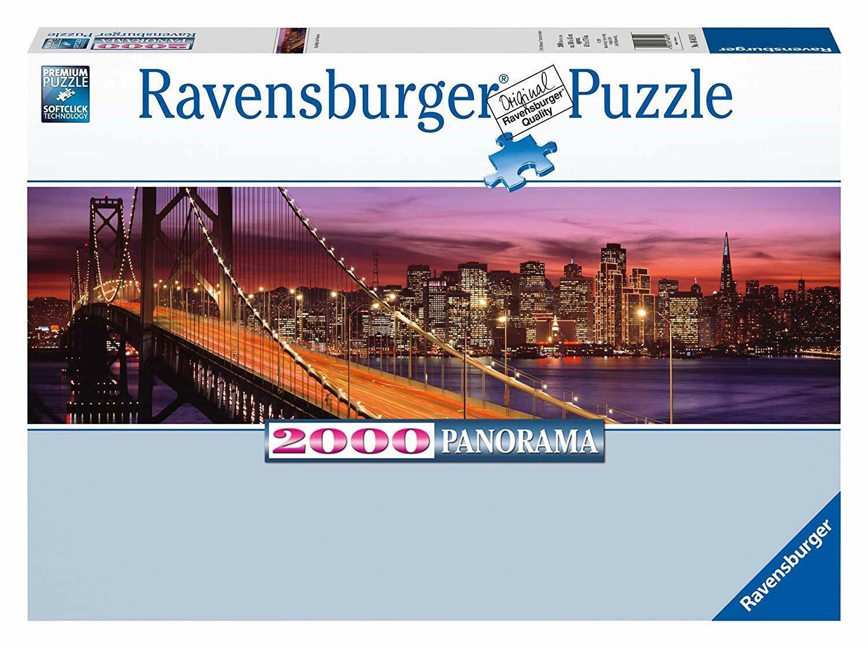 Bay Bridge San Francisco Panorama-Puzzle 2000 Teile Ravensburger 16619 Neu Neu Neu OVP 4a6eec