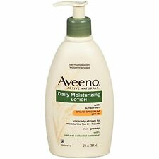 Aveeno Active Naturals Daily Moisturizing Lotion SPF15 12.0 Oz