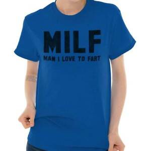 Milf-Homme-Love-to-Fart-Drole-Nouveaute-Cadeau-Pour-Homme-T-shirts-T-SHIRTS-T-Shirts-T-Shirt