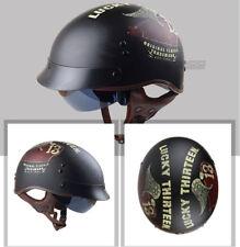 Torc T-55 Spec-Ops Helmet Inner Sun Shield Half Shorty Naked DOT XS-2XL