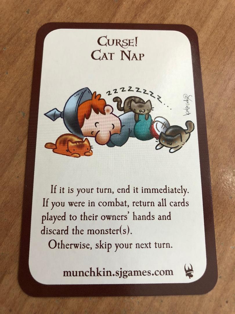 Munchkin Kittens /& Promo Bookmark Steve Jackson Games Katie Cook Art