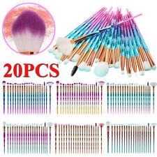 20PCS Makeup Blending Details Eyebrow Eyeshadow Eyelash Powder Lip Brushes Set