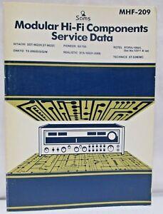 Sams-Modular-Hi-Fi-Components-Service-Data-MHF-209-Hitachi-Pioneer-Onkyo-Rotel