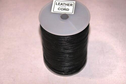 Spool 100 Meter GRL Series Black * 2 mm-*Genuine* India Leather Cords