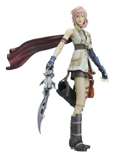 FINAL FANTASY XIII PLAY ARTS Kai Lightning (PVC painted action figure)