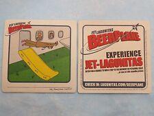 BEER Coaster <> Fly Jet LAGUNITAS Brewing <> Win A Trip To Petaluma, CALIFORNIA