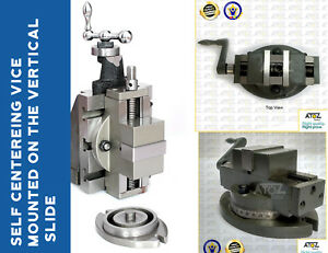 "SWIVEL BASE 4/"" x 5/"" WITH 88MM VICE LATHE VERTICAL MILLING SLIDE"