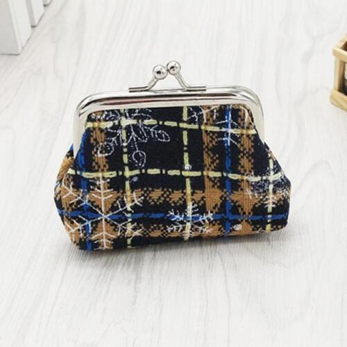 Women Fashion Mini Wallet Card Holder Bag Pouch Coins Purse Christmas Gift