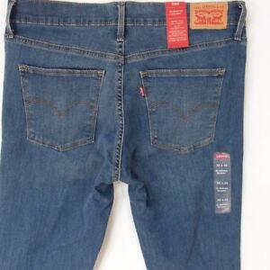 Minceur W32 Stretch Levis Taille 28399 Femmes Bleu Nouveau Jean Bnwt Jeans L32 12 4t6RCnx
