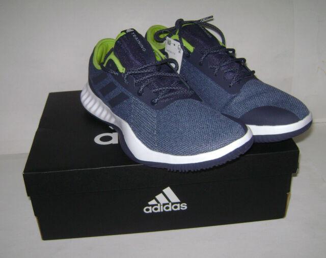 new product 270c3 ae5ee NIB adidas Men Crazy Train LT M Running Training Shoes Sz 13 Blue White  CG3492