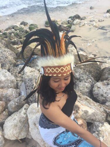 Pocahontas MOLLA cappa Indian Headdress Squaw WINNETOU era Bonnet coiffe indienne