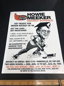 howie-meeker-Hockey-School-Vintage-NOS-Poster-Lobby-Card-Great-4-The-Hockey-Cave