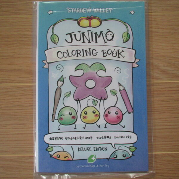 Junimo Coloring Book By Kari Fry 2016 Paperback For Sale