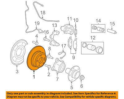 BMW OEM 07-18 X5 Rear Brake-Rotor 34216886479