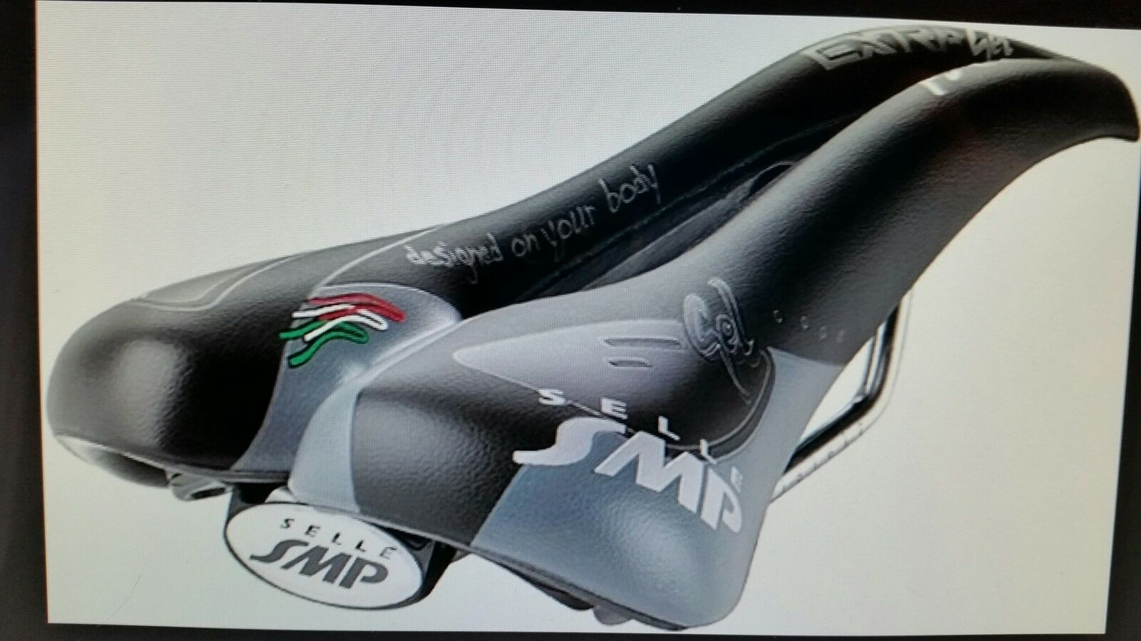 SELLA BICI SMP IN GEL TRK MAN   TREKKING  mod 2014