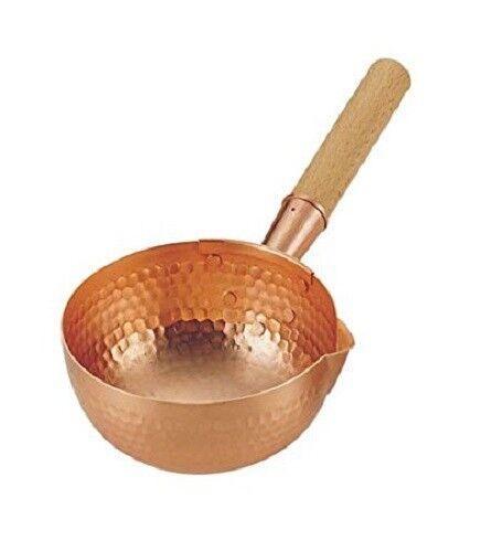 Pure Cuivre cuisine cuisson lait Pan ustensiles de cuisine Made in Japan  2 NEUF