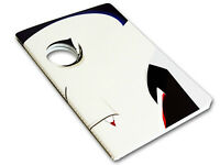 Mollaspace Peeping Notebook, Dracula Horror Series 5.8 X8.3 Inches Disguise Book