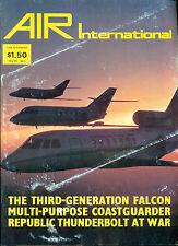 AIR INTERNATIONAL British aviation magazine February 1978