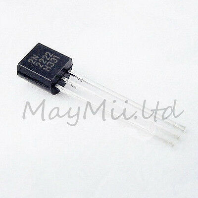 Brand New Original 100Pcs NPN Transistor TO-92 2N2222A 2N2222 Hot Products HB