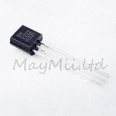 NPN Transistor TO-92 2N2222A 2N2222 100Pcs Hot Sales New High Quality LZ