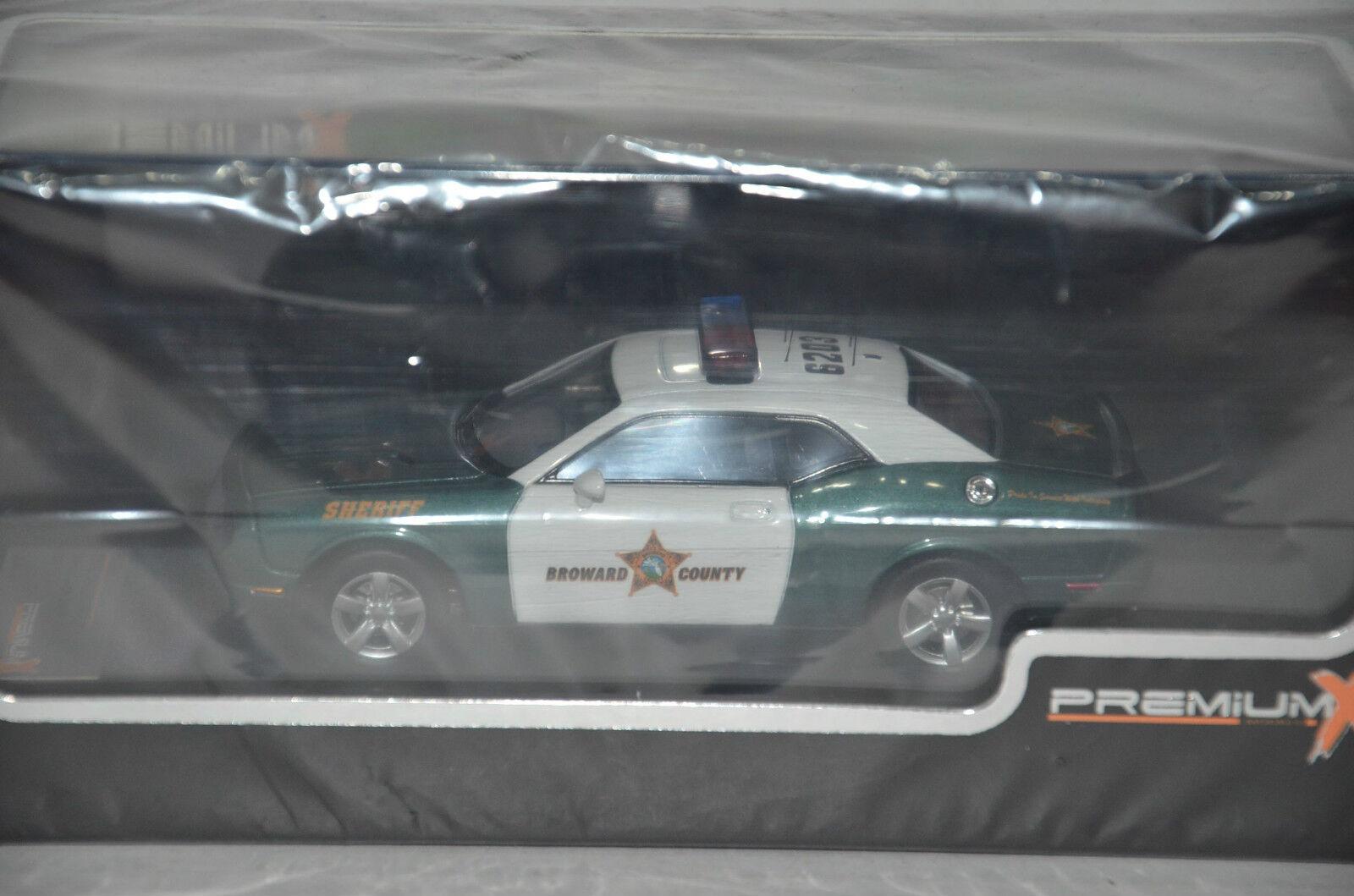 Dodge Challenger R T Police Sheriff PremiumX 2009 1 43