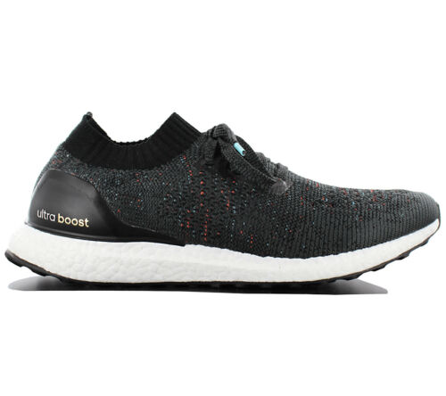 adidas Ultra Boost Uncaged Running Shoe Size UK 9 Core Black Solid Grey  BB4486
