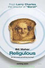 RELIGULOUS MOVIE POSTER  BILL MAHER S TAKE ON RELIGION