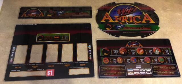 Wild Africa Slot Machine