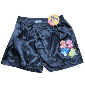 0d21f81875 New Men s M M s Boxer Shorts Silky Underwear Small-XL Black Satin ...