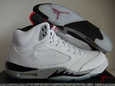 Men s Nike Air Jordan 5 Retro Cement 136027-104 NWB Size 17 for sale ... c1f54a4a9