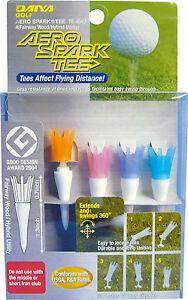 Aero-Spark-Golf-Tees-2-034-Fairway-Wood-Irons-4-Pack-Pastel