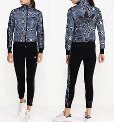 ADIDAS Originals Firebird Damen Trainingsjacke Jacke Tracktop Schlangenoptik