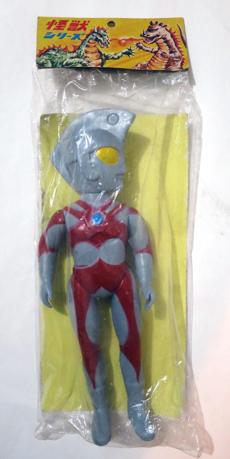Ultraman Ace 12  botaleg KO Vintage Vinilo Suave Juguete Japón 1970s MIB Raro Mancha