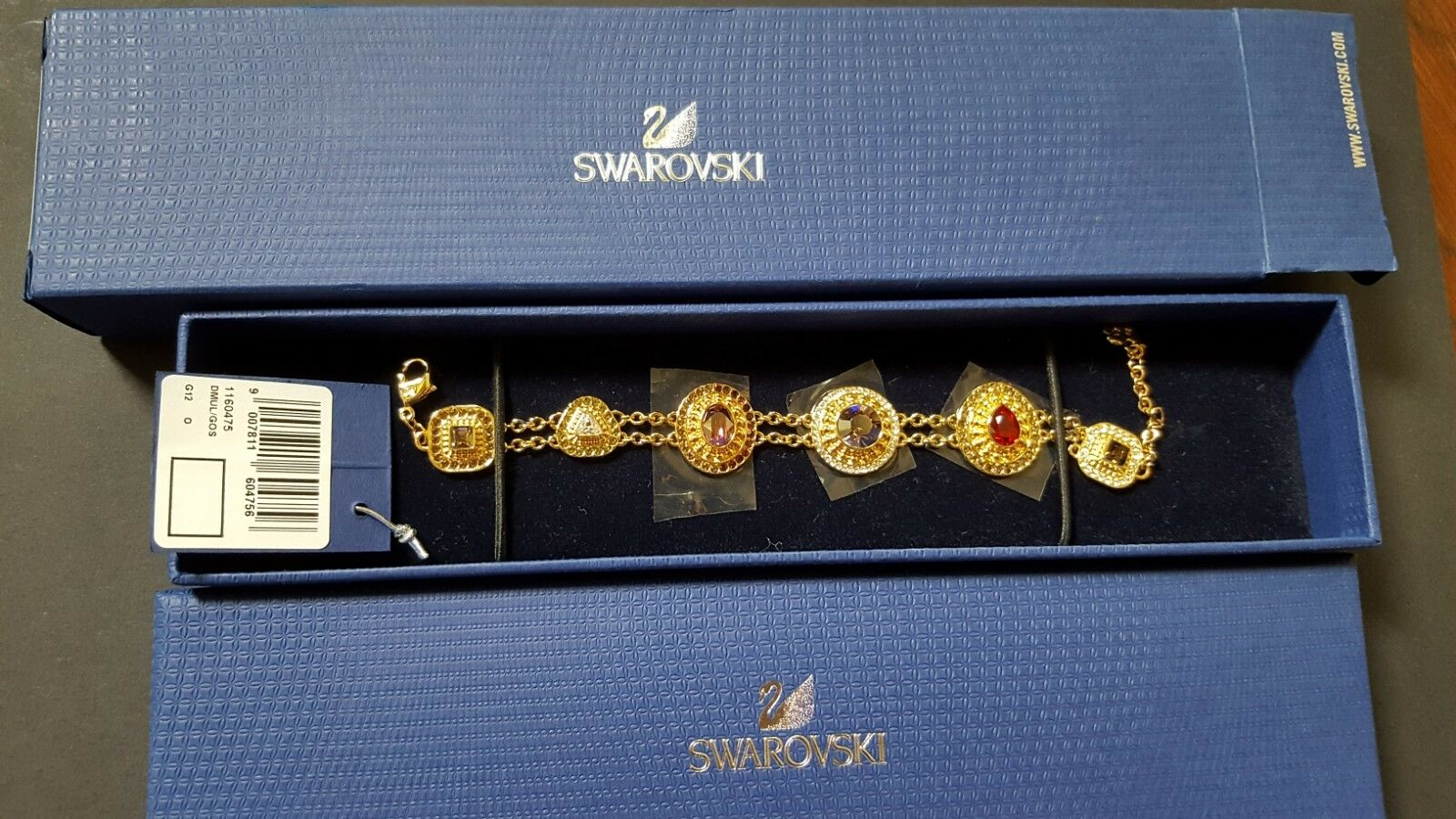 Swarovski Byzantine Bracelet - New