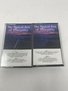 The Musical Sea of Tranquility Cassette | Peaceful Productions 1987 LOT 2-RARE!!