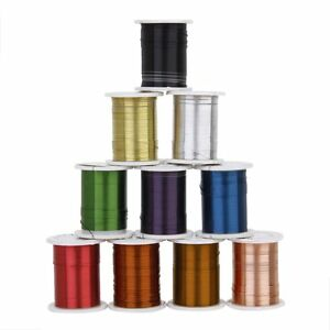 10-Rolls-of-Copper-Wire-Beading-Thread-Cord-for-DIY-Jewellery-Making-AD